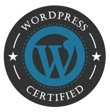 certified wordpress partner logo