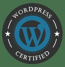 certified wordpress partner logo